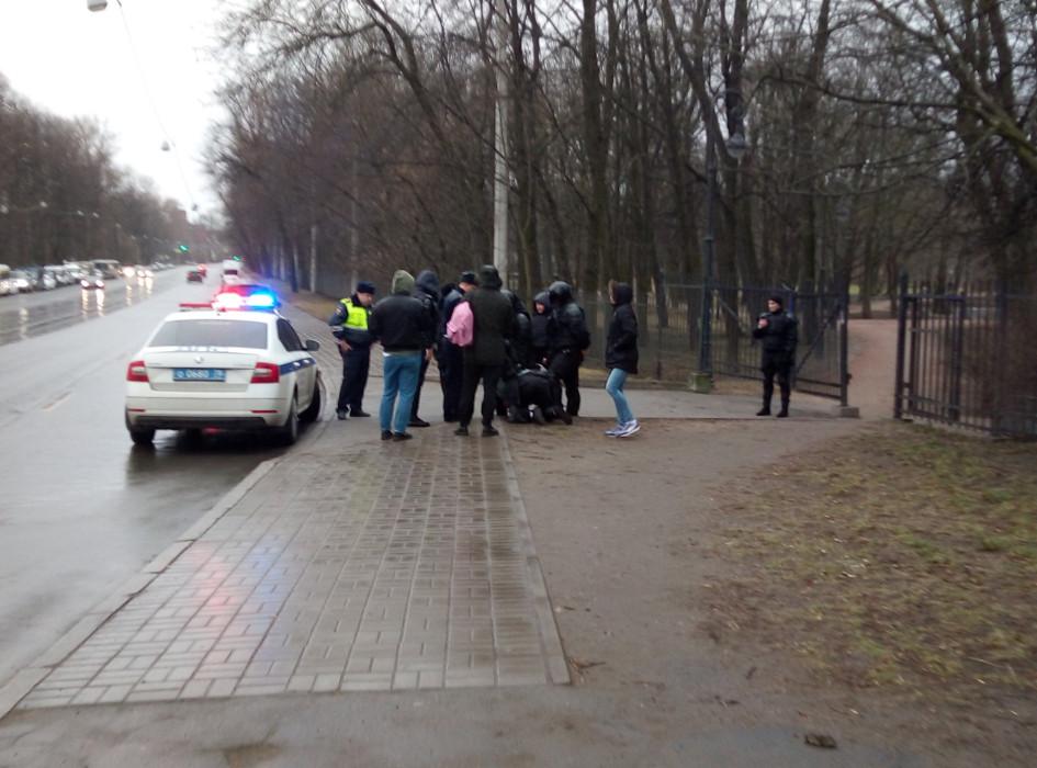 Задержание участники митинга в поддержку фигурантов дела «Сети»