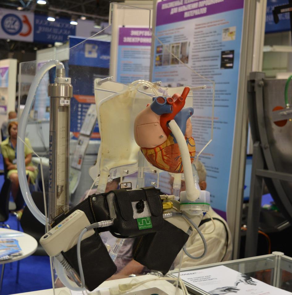Макет насоса для поддержки кровообращения в организме