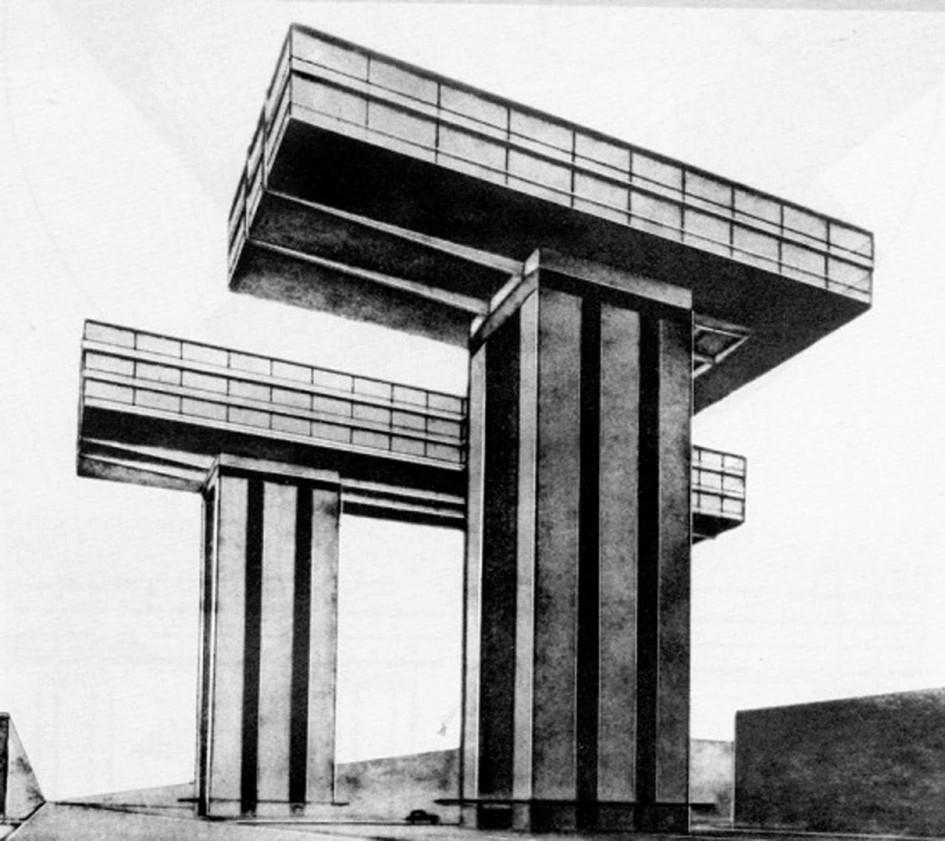 Горизонтальный небоскреб Лисицкого