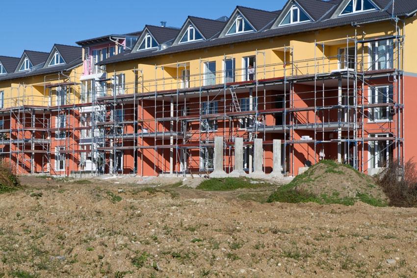 Строительство малоэтажного жилого комплекса