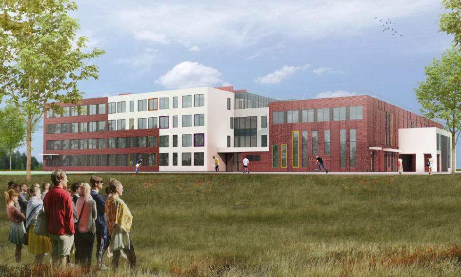 С 2017 года все школы Московской области будут проектироваться помодульному принципу. Это означает, чтотиповое здание разделят натри функциональных блока: начальную школу, среднюю школу иобщешкольные помещения, ккоторым относятся, например, спортзал истоловая