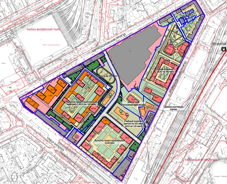 Проект планировки территории промзоны