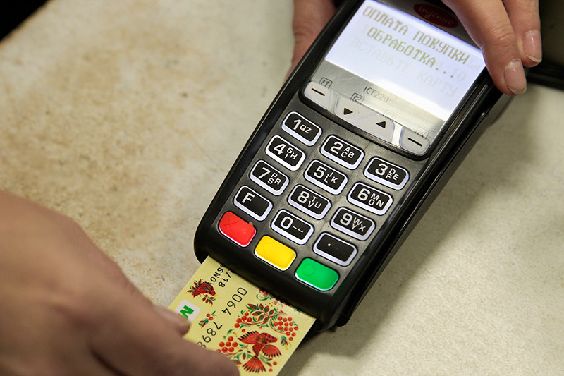 Не могу расплатиться картой сбербанка в магазине