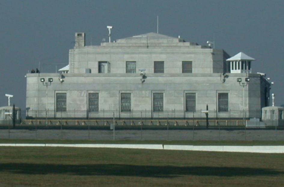 Хранилище на военной базе Форт-Нокс