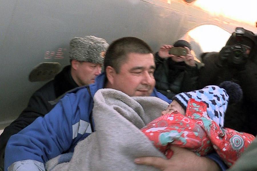 Девочкавыжившая в авиакатастрофе самолета L-410