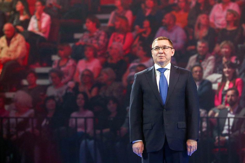 Министр строительства и жилищно-коммунального хозяйства РФ Владимир Якушев