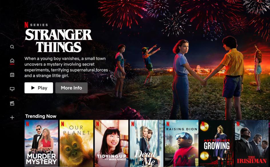 Сервис Netflix для пользователей Великобритании