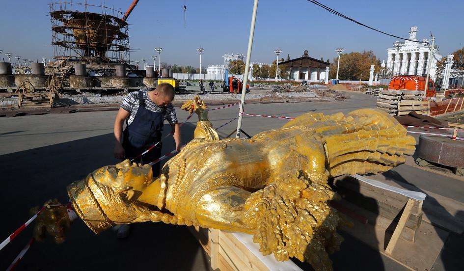 Закрытие и подготовка фонтана к реконструкции