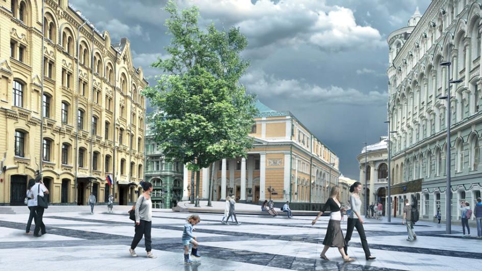 Проект благоустройства Биржевой площади