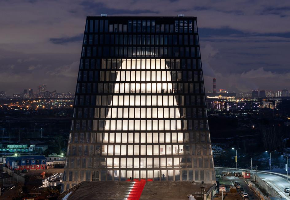 Здание Matrex виннограде «Сколково»