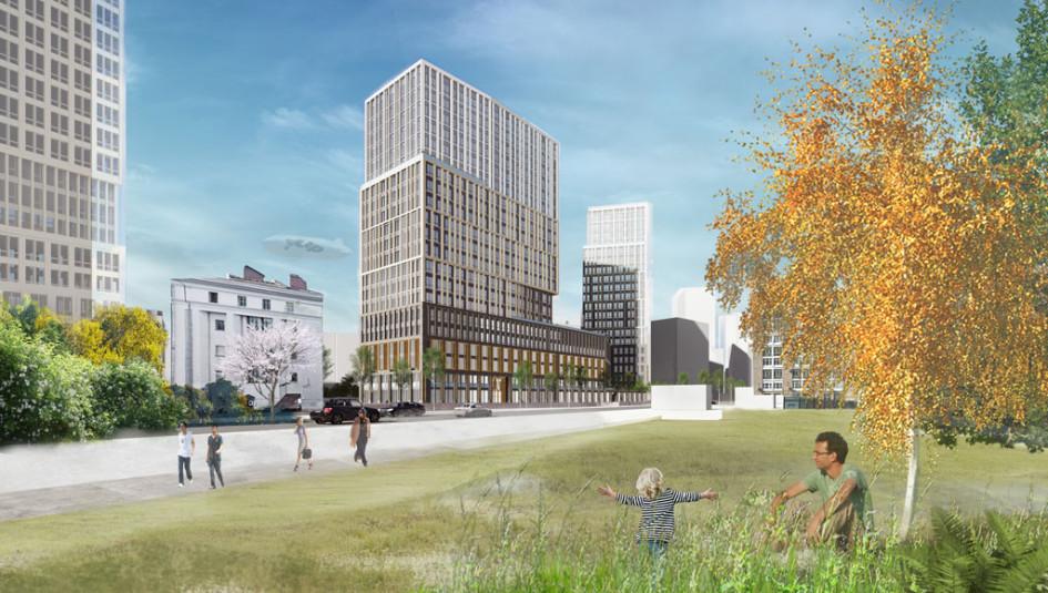 Архитектурная концепция квартала «Правда»