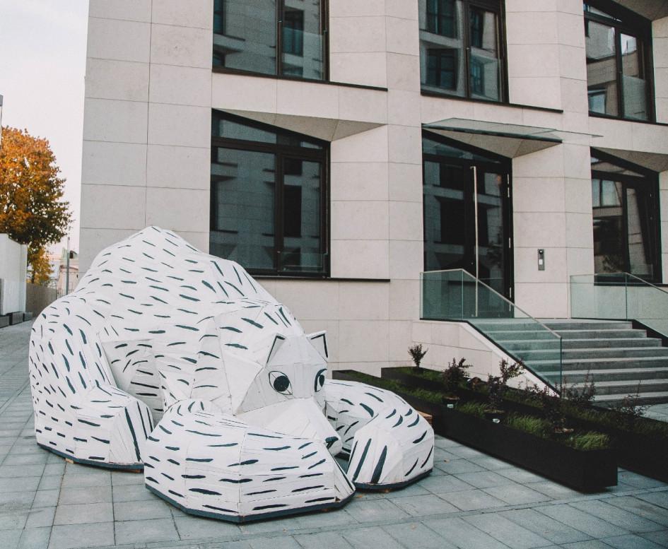 Скульптура «Медведь», Андрей Бартенев, коллекция «Интеко»