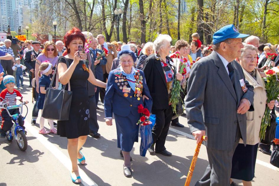 """Парк """"Сокольники"""" на майских праздниках"""