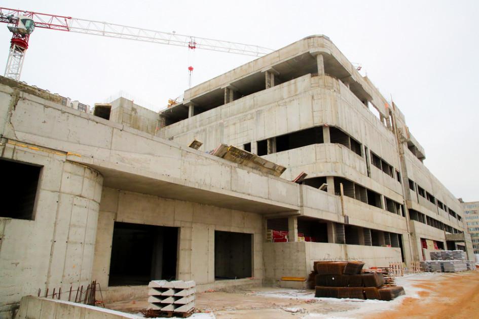 Строительство второго корпуса НИИ имени Джанелидзе