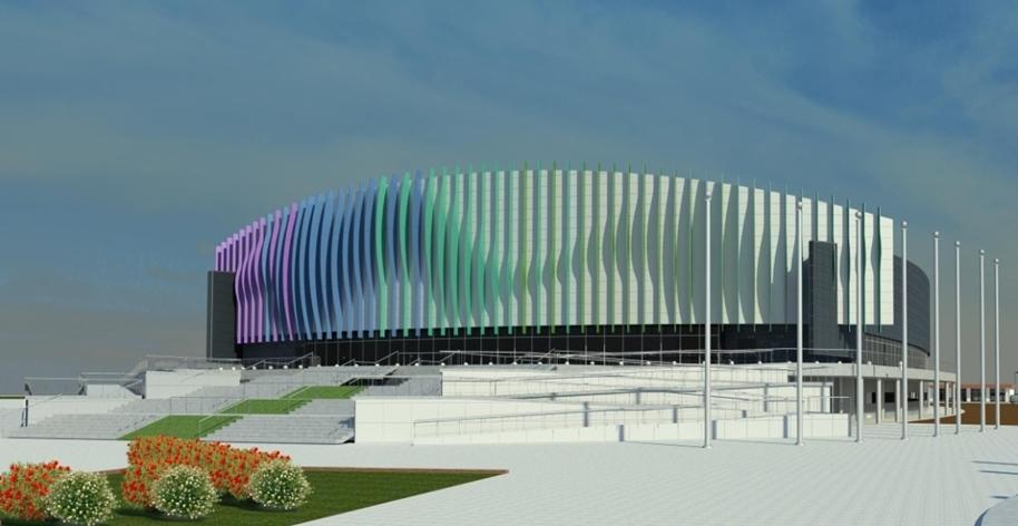 Последнее предложение российских архитекторов, которые предложили яркие фасады, напоминающие ткань