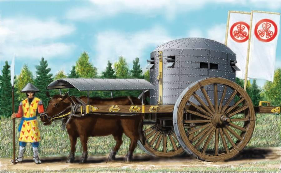 «Агами гурума»— «божественная машина» японцев. Художник Арон Шепс
