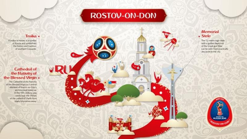 Fans World Cup 2018 được đón tiếp ở Rostov-na-Donu thế nào?