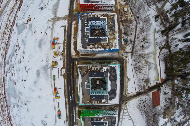 Здания ОЦ «Технопарк», возведенные на средства Вексельберга, стали временными помещениями для Сколтеха и других подразделений фонда