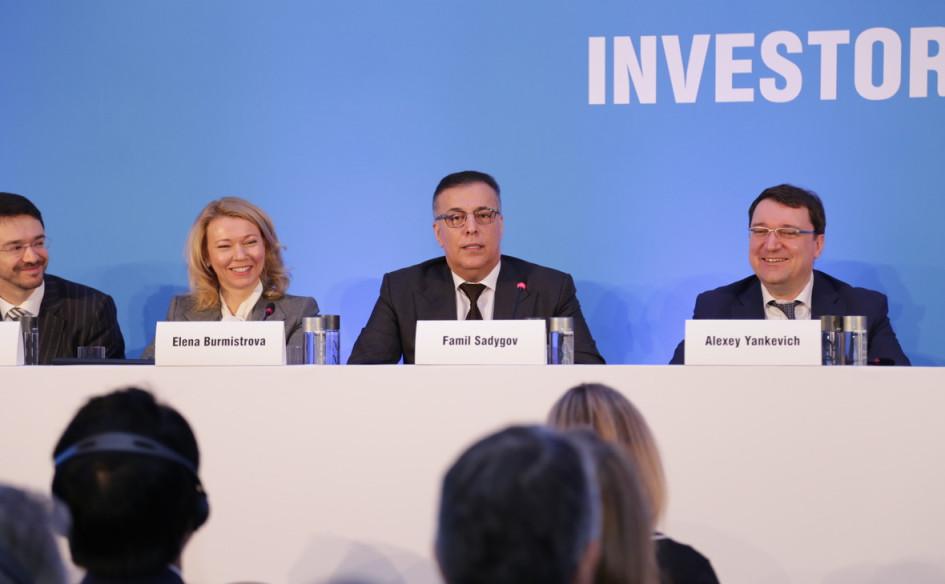 «Газпром» проводит День инвестора в Нью-Йорке