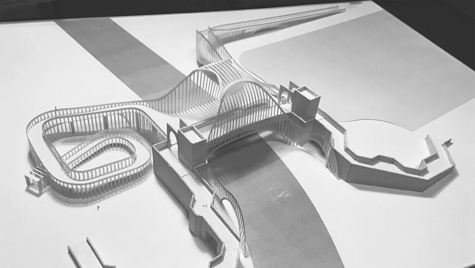 Архитектурный макет моста