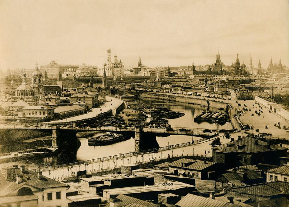 Портовое Зарядье в XIX веке
