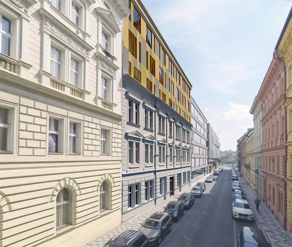 Проектный видValentinka Residenceи ул. На Валентнице