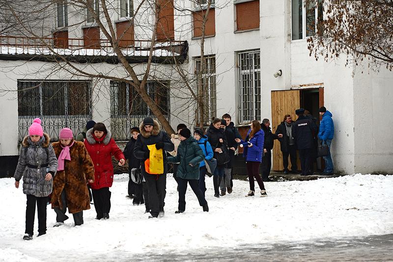 Ученики московской школы № 263