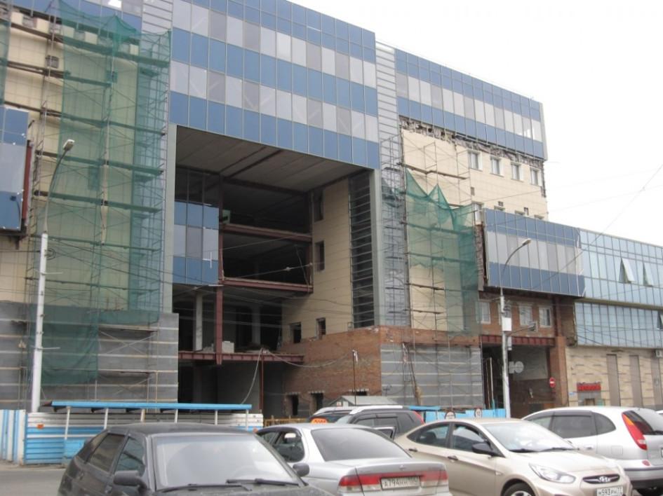 К автовокзалу хотели пристроить два трехэтажных здания и сдавать их в аренду