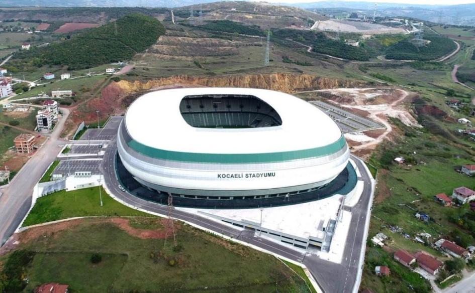 Kocaeli Stadyumu (Измит, Турция). Вместимость 34 712 зрителей, сроки строительства — 256 сентября 2014г. — 2018г.; стоимость строительства — $24,5 млн.