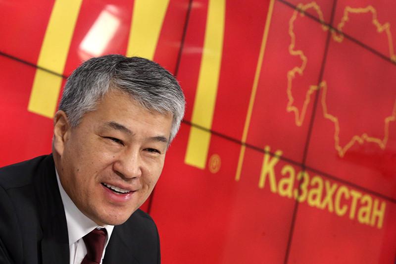 Кайрат Боранбаев, один избогатейших бизнесменов Казахстана, уже владеющий франшизой сети «Макдоналдс» вКазахстане иБелоруссии