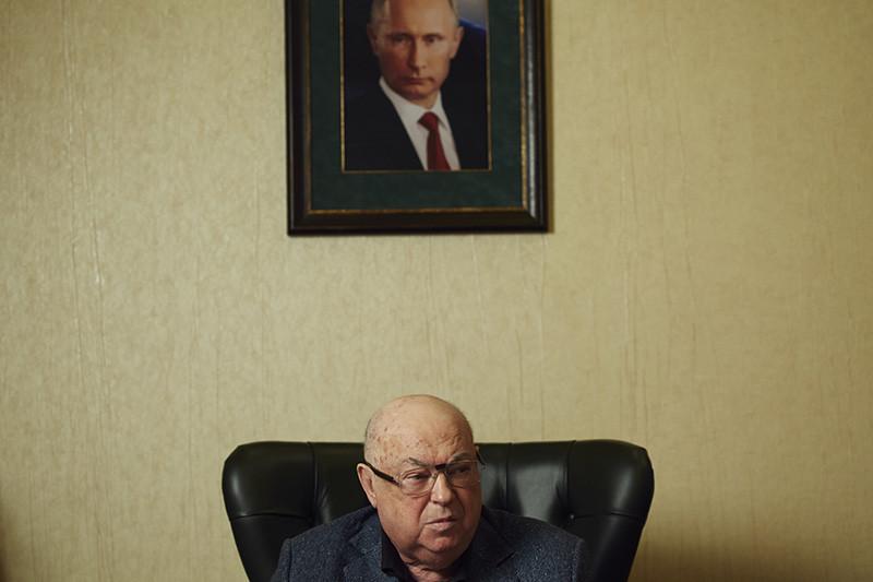 Глава думской комиссии по строительству центра Владимир Ресин