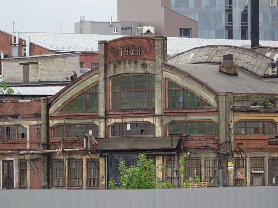 Кузнечный цех завода «Новый Лесснер» на Большом Сампсониевском проспекте