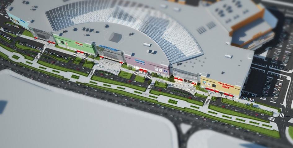 В 2014г. на территории в Москве откроется один из самых крупных проектов столицы – ТРЦ «Авиа Парк». Его арендопригодная площадь составит 231 тыс. кв. м