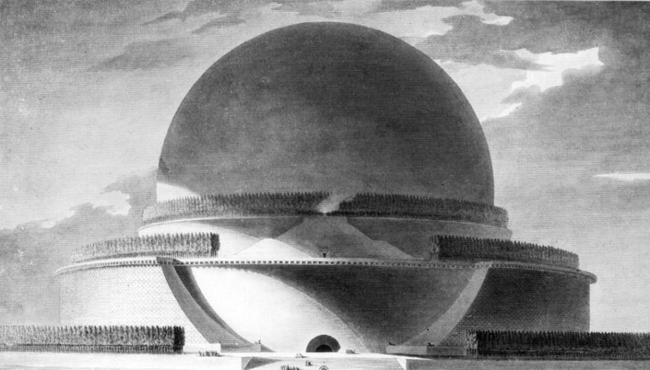 Этьен Булле. Кенотаф Ньютона. 1784г.