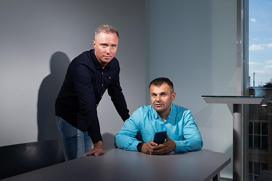 Дмитрий Костомаров и Алексей Вагин