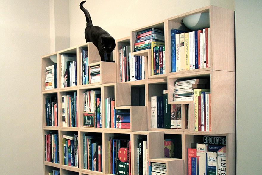 Шкаф-лестница для кошки