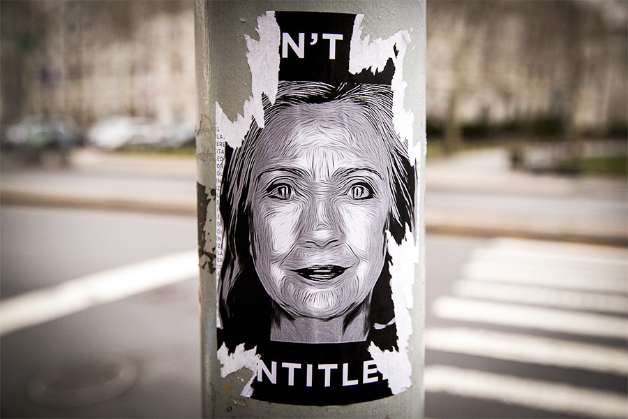 Стикерс изображениемХиллари Клинтон