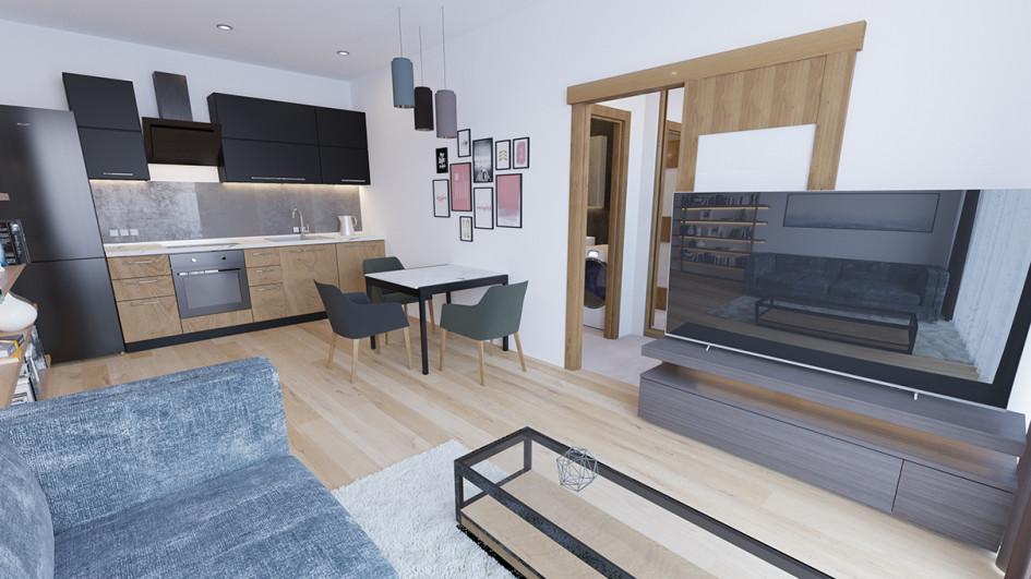 Проект дизайна жилогоинтерьера вValentinka Residence