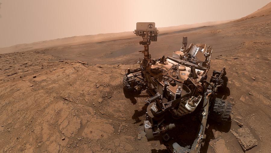 «Селфи» марсохода Curiosity, октябрь 2019 года