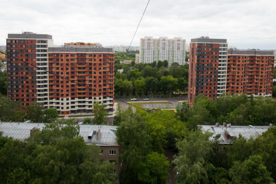 Новые многоквартирные дома, построенные в рамках программы реновации жилищного фонда столицы