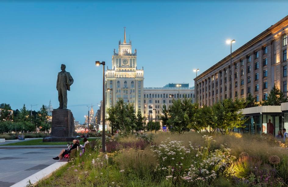 Проект благоустройства Триумфальной площади в Москве