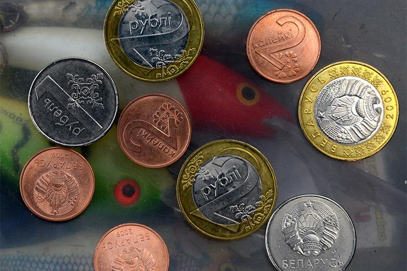 Новые монеты белорусских рублей