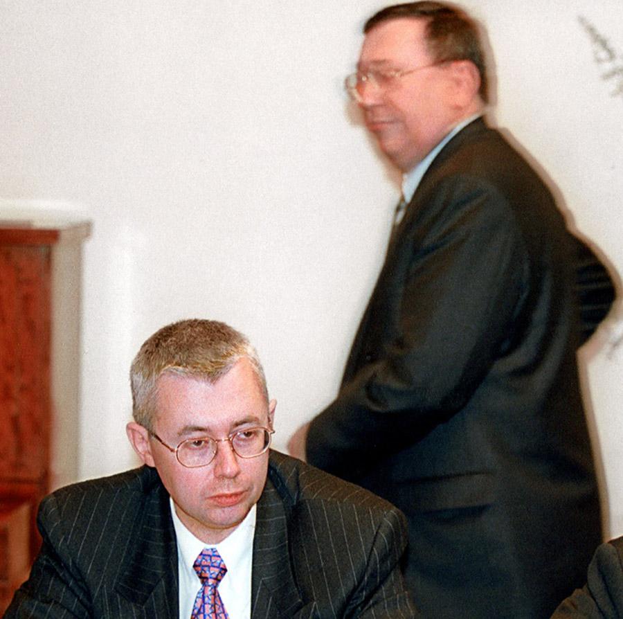 Игорь Малашенко (слева) и Владимир Гусинский