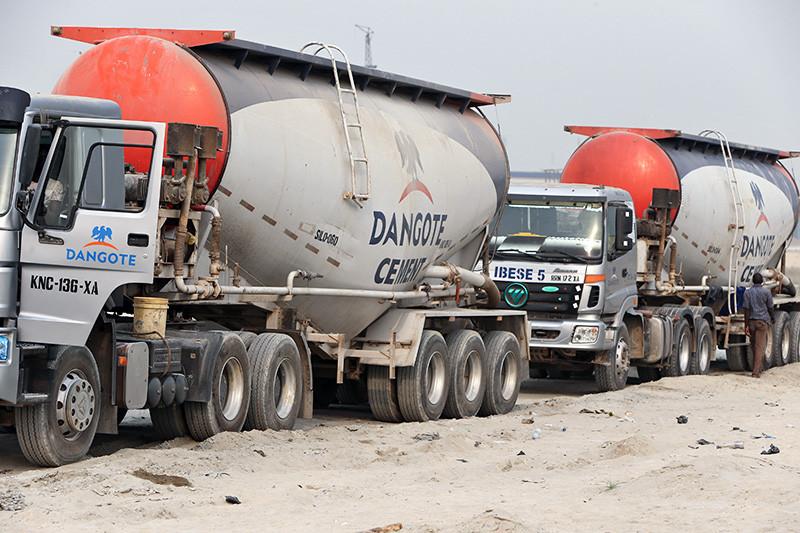 Цементовозы Dangote Cement Plc