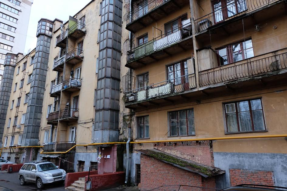 Пятиэтажный жилой дом на улице Верхняя Масловка в районе Аэропорт (Москва)