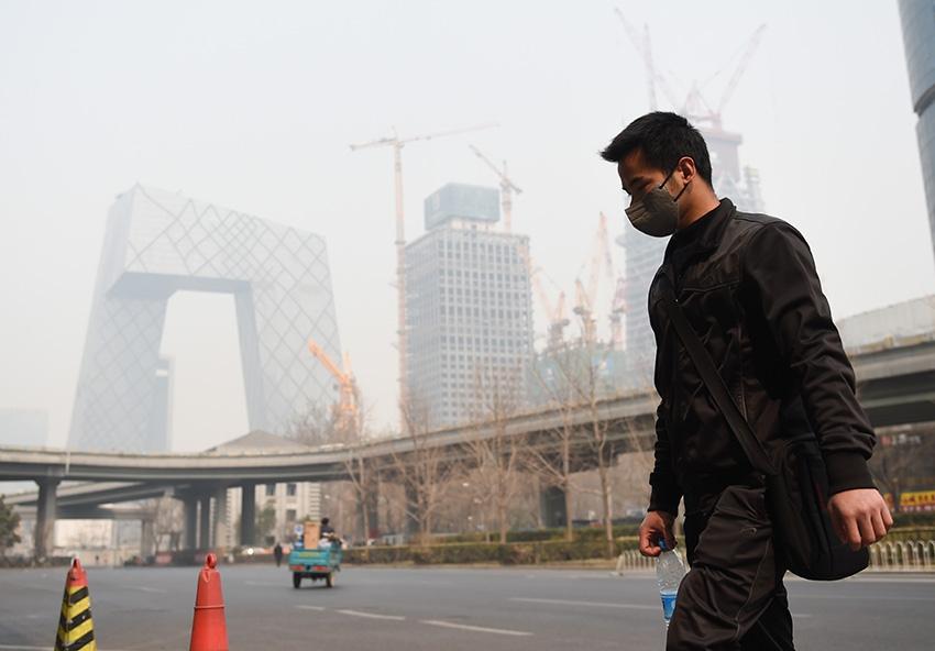 Загрязнение воздуха в Пекине