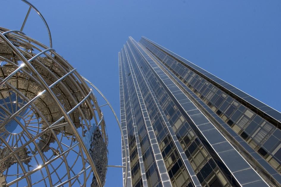 Многофункциональный центр Trump Tower в Нью-Йорке