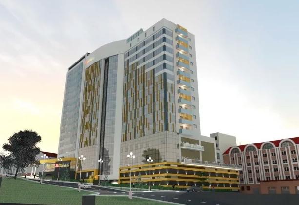Проект отеля в Хабаровске