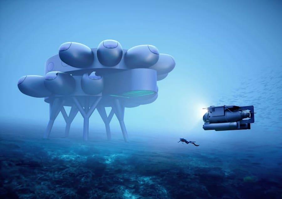 Проект подводной станции Proteus