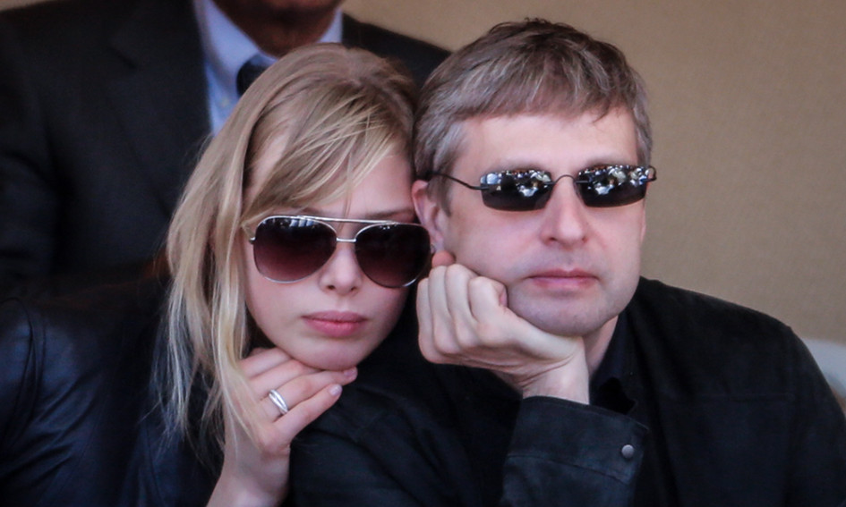 Дмитрий Рыболовлев с бывшей женой Еленой